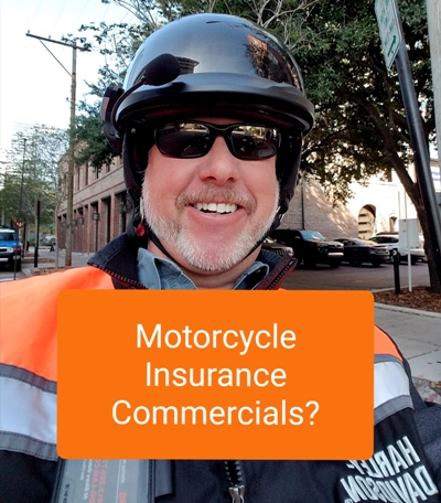 Motorcycle Insurance Commercials