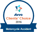 Avvo Client's Chioce 2016 - Motorcycle Accident